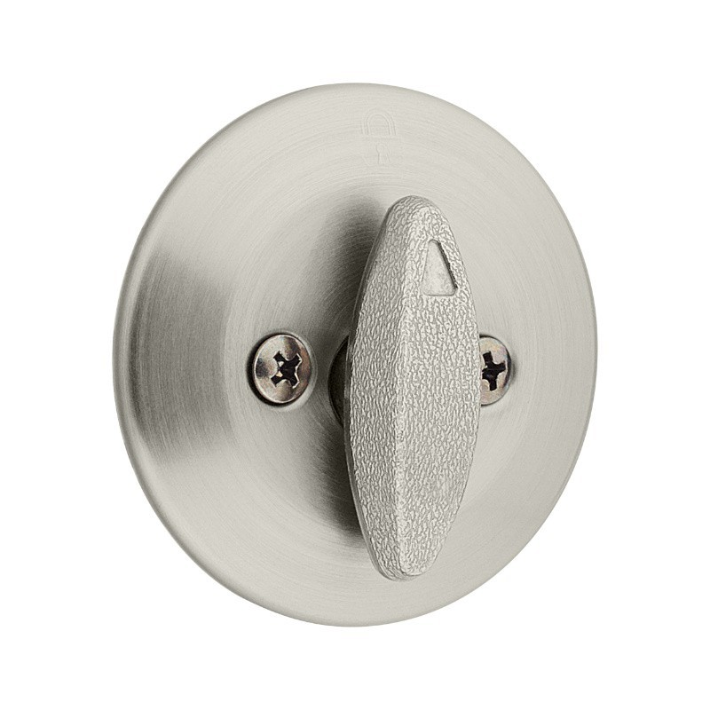 663 Kwikset One Sided Deadbolt No Exterior Plate