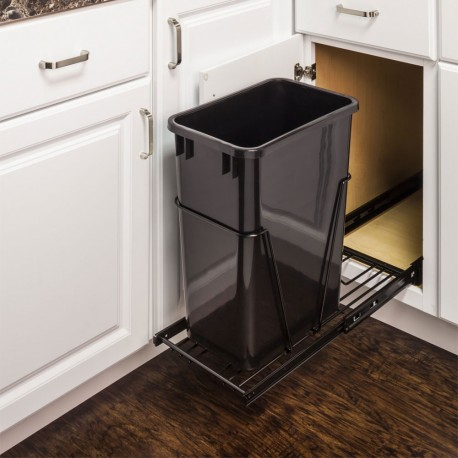 Hardware Resource CAN Single Pullout Waste Container System (35 or 50qt)