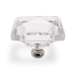 Cal Crystal M997 Rectangle Cabinet Knob