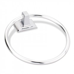 Elements Bridgeport BHE1 Towel Ring, Polished Chrome