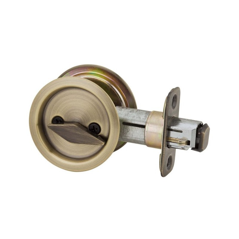 Kwikset Model Round 335 Pocket Door Lock Privacy