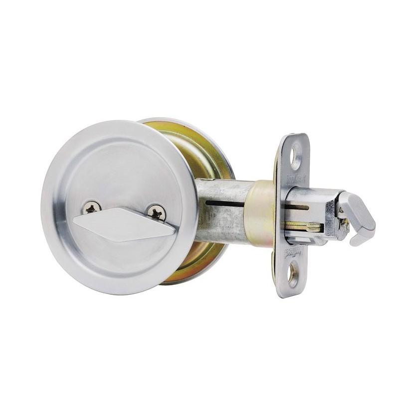 Kwikset Model Round 335 Pocket Door Lock Privacy
