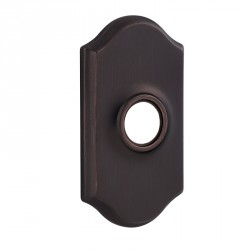 Kwikset Designer Rose 83319 Arched Rose Cover for Reversible Levers