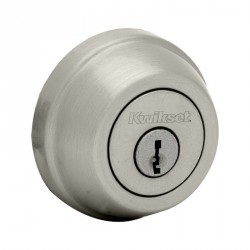 Kwikset 780 Single Cylinder Deadbolt in Satin Nickel