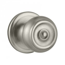 Kwikset 720PE US15 Phoenix Passage Door Knob in Satin Nickel