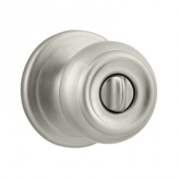 Kwikset 730PE US15 Phoenix Privacy Door Knob in Satin Nickel