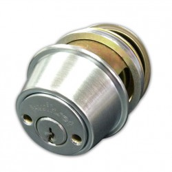 "Kwikset 587US26D 2-3/8"" Safe-T-Lok Heavy Duty Commercial Grade 1 Double Cylinder Deadbolt in Satin Chrome"