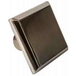 American Imaginations AI-376 1.20-in.W Square Brass Cabinet Knob