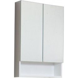 American imaginations AI-547 23.5-in. W x 31-in. H Modern Plywood-Veneer Medicine Cabinet In White