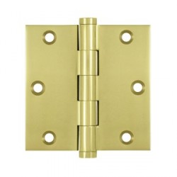 "Deltana 3-1/2"" x 3-1/2"" Residential Square Hinge"