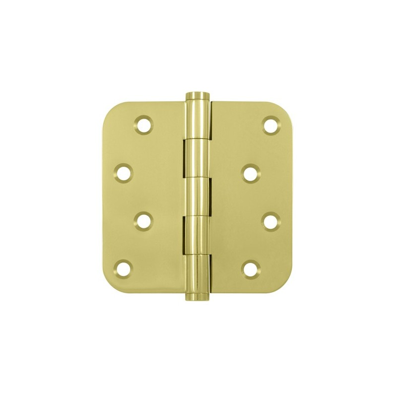 Deltana 4 Quot X 4 Quot X 5 8 Quot Radius Hinge With Zig Zag Hole Pattern