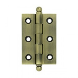 "Deltana 2.5"" x 1.7"" Cabinet Hinge with Ball Tip"