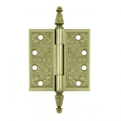"Deltana 4"" x 4"" Square Ornate Hinge"