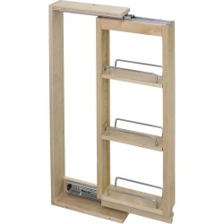Hardware Resources WFPO Wall Cabinet Filler Pullout