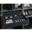 Hardware Resources JD1-24 Series 5 Compartment Felt Jewelry Organizer
