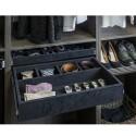 Hardware Resources JD1-24 Series 5 Compartment Felt Jewelry Organizer
