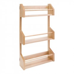 Hardware Resources Spice Rack for Wall Cabinet