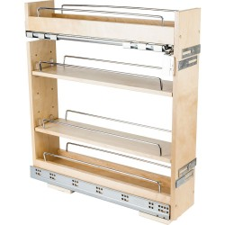 Hardware Resources BPO No Wiggle Base Cabinet Pullout with Premium Soft-close