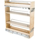 Hardware Resources BPO2 No Wiggle Base Cabinet Pullout with Premium Soft-close