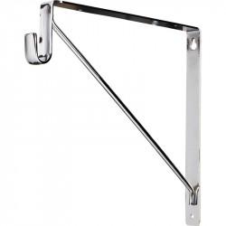 Hardware Resources Shelf & Rod Support Bracket for 1530 Series Closet Rods