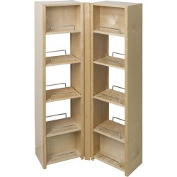 "Hardware Resources Pantry Swing Out Cabinet 12"" x 8"" x 45-5/8"