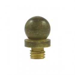 Deltana Ball Tip Distressed Finish Finial