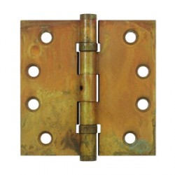 "Deltana 4"" x 4"" Distressed Finish Square Ball Bearing Hinge"