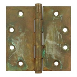 "Deltana 4-1/2"" x 4-1/2"" Distressed Finish Square Hinge"