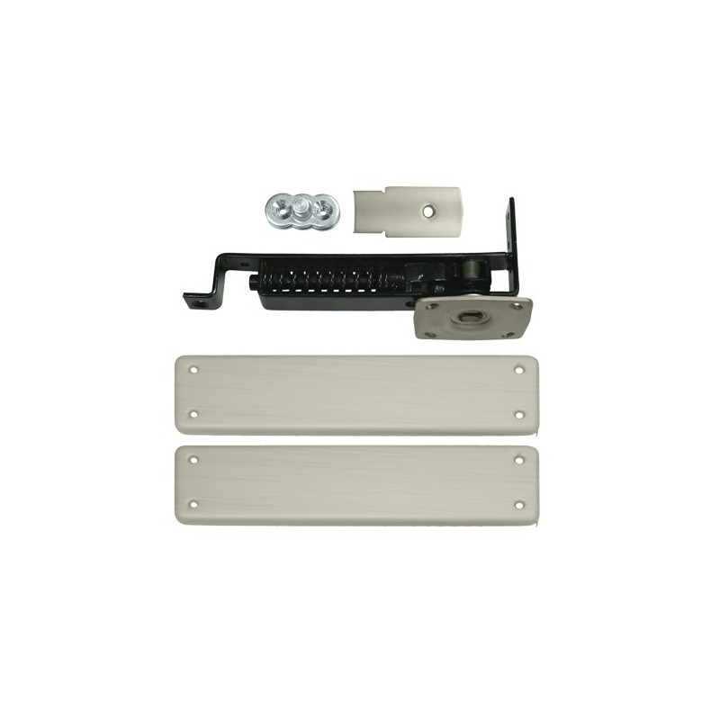 Deltana Double Action Floor Spring Hinge With Solid Brass