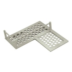 "Deltana 9"" Right Corner Bathroom Basket"