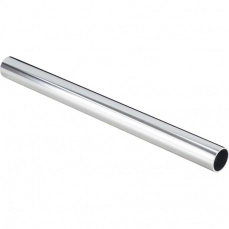 "Hardware Resources 1-5/16"" Diameter x 2.0mm Thick x 8' Round Aluminum Closet Rod"
