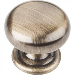 "Elements 2980 Series Florence 1-1/4"" Diameter Zinc Die Cast Cabinet Knob"
