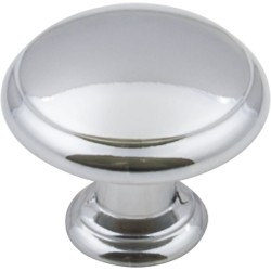 "Elements 3940 Series Gatsby 1 3/16"" Diameter Mushroom Cabinet Knob with One 8 32 x 1"" Screw"