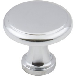 "Elements 3970 Series Gatsby 1 1/8"" Diameter Cabinet Knob with One 8 32 x 1"" Screw"