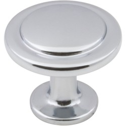 "Elements 3960 Series Gatsby 1 1/4"" Diameter Cabinet Knob with One 8 32 x 1"" Screw"