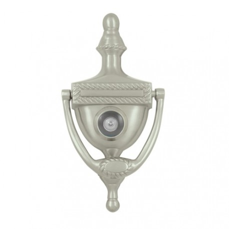 Deltana door knocker with viewer victorian rope - Door knocker with viewer ...