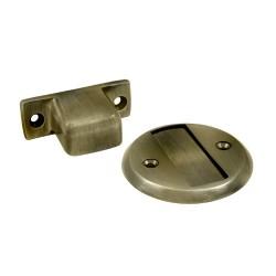 """Deltana Magnetic Door Holder Flush 2.5"""" Diameter"""