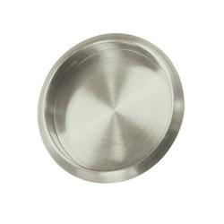 """Deltana Flush Pull, Round, 21/8"""" Diameter"""