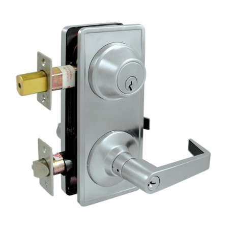 Deltana Interconnected Lock GR2, Entry w/ Claredon Lever