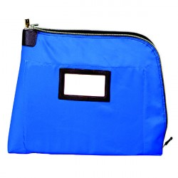 MMF 2320002C9 UltimaSeven Laminated Nylon Document Carrier-Mariner Blue (17X14X4)