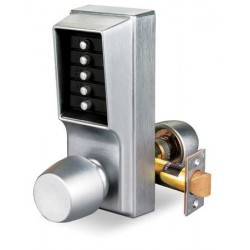 KABA Simplex 1000 Series Mechanical Keyless Pushbutton Door Lock with Knob