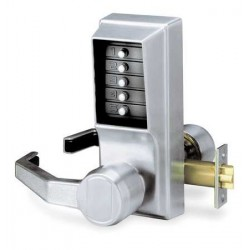 KABA Simplex L1000 Series Mechanical Keyless Pushbutton Combination Door Lock with Lever