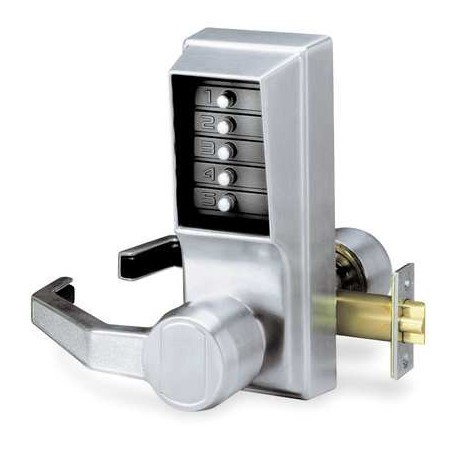 KABA Simplex L1000 Series Cipher Mechanical Keyless Pushbutton Combination Door Lock with Lever