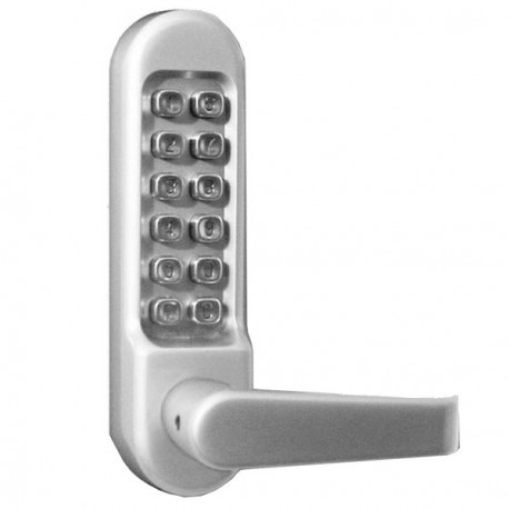 KABA Simplex LD470 Series Mechanical Pushbutton Cipher Lock with Lever