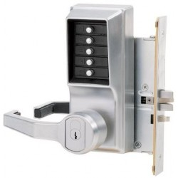 KABA Simplex 8100 Series Mechanical Keyless Pushbutton Mortise Door Lock