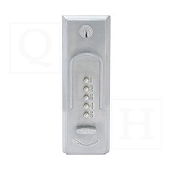 KABA Simplex 2015 Mechanical Keyless Pushbutton Lock for Exit Devices in Satin Chrome