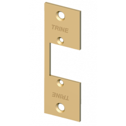 """Trine 334 3-3/4"""" Faceplate for 3000 Series Electric Strikes"""