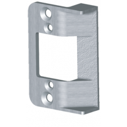 """Trine 258 2-5/8"""" Faceplate for 3000 Series Electric Strikes"""