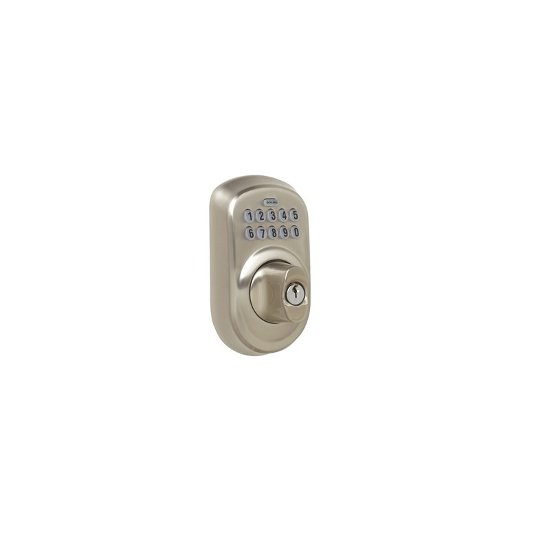 Schlage Be365 Plymouth Electronic Keypad Deadbolt