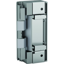HES 8000C Series Complete Electric Strike Kits in Satin Stainless Steel